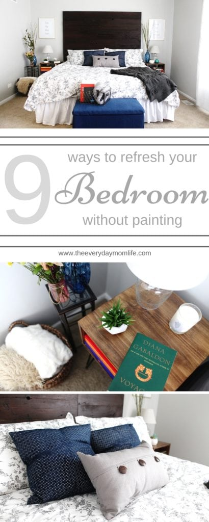 Master bedroom refresh - The Everyday Mom Life
